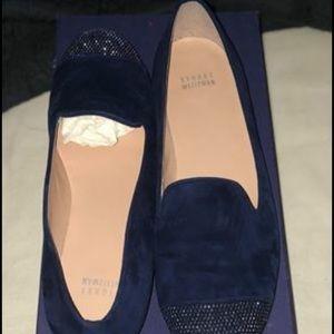 Stuart Weizman Royal Blue Loafers